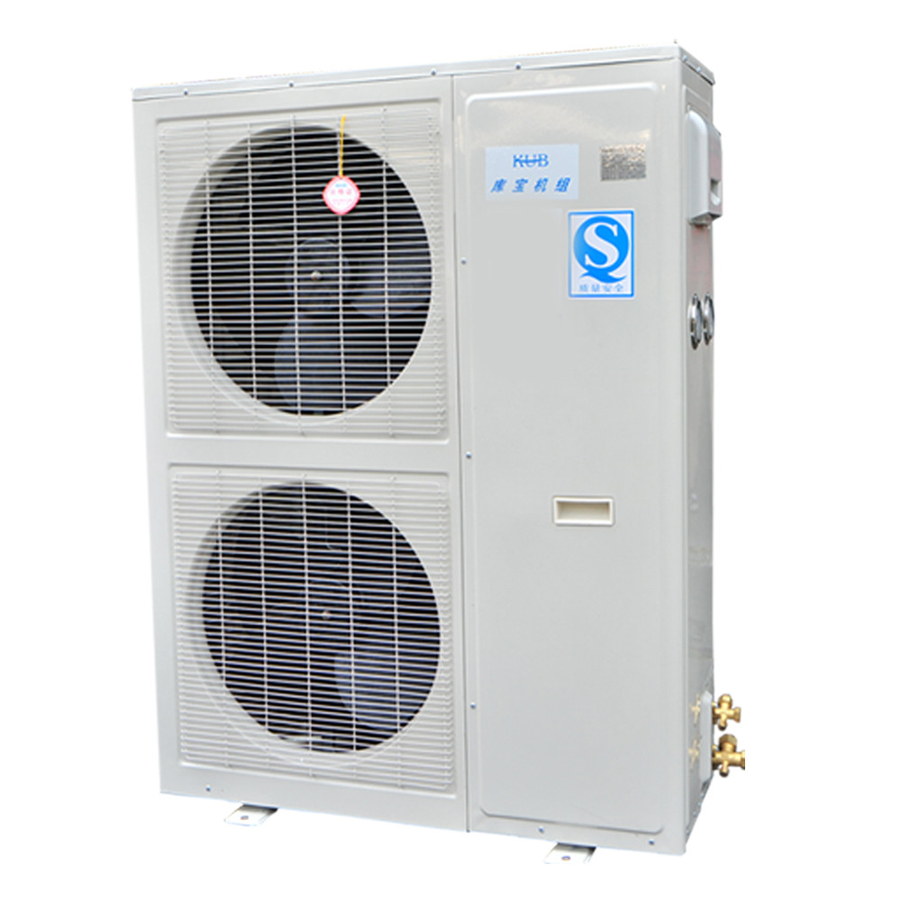 KUB500 Air Cooled Air Conditioner Refrigeration Condensing Unit Monolithic Structure  High Heat Exchange Efficiency